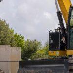 Nueva excavadora compacta 308 CR de Caterpillar.