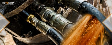 Efectos negativos de las fugas hidráulicas en la maquinaria.
